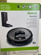 New Irobot Roomba I8+ Wi-fi Connected Robot Dirt Disposal Self Clean I8550