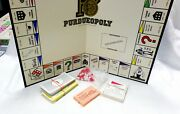 Vtg 80's Purdueopoly Board Game Purdue University Campus College Game Parts Only