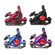 Zoom Xtech Hb100 Mtb Hydraulic Disc Brake Calipers Front And Rear G3 Rotors 120/