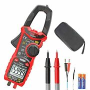 Kaiweets Digital Ac Clamp Meter T-rms 6000 Counts Multimeter Voltage Tester 206
