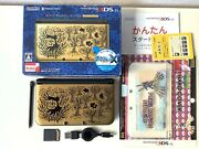 Nintendo 3ds Xl Ll Pokemon X Pack Premium Gold Limited Japan Console Used Case