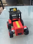 Bob The Builder - Sumsy Friction Red Tractor Fork Lift Truck Toy Vehicle