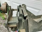 M23 Usgi Olive Drab Cradle And Ammo Tray 4 M2hb 50 Cal Bmg Ready To Use As Is