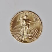 Bullion 25 Gold Eagle 1/2 Oz 1991 Not Certified Key Date