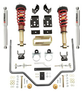 Complete Kit Inc. Height Adjustable Front Coilovers And Rear Sway Bar 1000hk