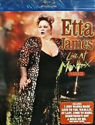 Etta James Live At Montreux 1978-1993 New Blu Ray, 23 Tracks Best Of Concert