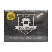 2021 Hit Parade Autoand039d Officially Licensed Football Jersey - Series 3 - 10-box C