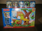 Fisher Price Little People Zoo Talkers Animal Sounds Zoo New Rare Playset