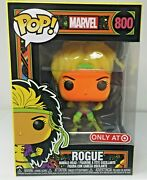 Funko Pop Marvel Black Light 800 Rogue Target Exclusive Sg284 In Hand