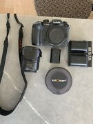 Lumix Gh5 , 14-140mm F3.5 Lens, Variable Nd Filter, Charger And 3 Batterys