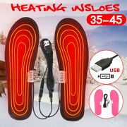 Electric Usb Heated Shoes Insoles Warm Sock Feet Heater Winter Warmer Foot Pad