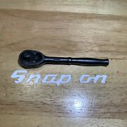 1959 Rare Vintage Snap On Pgm70m Ratchet With Locking Pin 1/4 Drive Usa