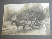 Antique Victorian Photo Collection Western Scenic Travel Horse Buggy Frontier Or