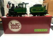 Lgb G Scale 2017d 0-6-0 Loco And Tender Boxed C-8 174358
