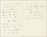 Henry Wadsworth Longfellow - Autograph Letter Signed 08/13/1851