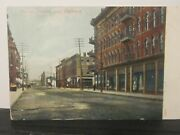 Postcard King St Looking East Chatham N.b. B1618