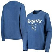 Kansas City Royals G-iii 4her By Carl Banks Womenand039s Comfy Cord Pullover