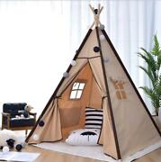 Kids Play Tent Teepee Play House For Baby Indoor Outdoor Game House Gift Toy