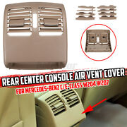 Rear Center Console Air Outlet Vent Grille Grill Cover For Mercedes W204 M/