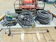 Miller Rhc-14 Remote Hand Control 125and039 Lead Cord And Plug Welder Tig Mig Welding