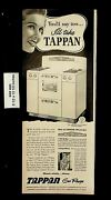 1949 Tappan Gas Ranges Oven Vintage Print Ad 20830