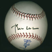 William J. Bill Clinton - Baseball Signed With Co-signers