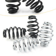 Barrel Coiled Solo Seat Springs For Harley Chopper Bobber Softail 3-1/8x1-3/4