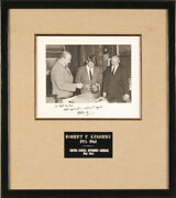 Robert F. Kennedy - Autographed Inscribed Photograph