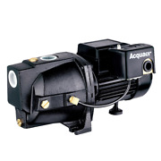 Acquaer Shallow Well Jet Pump 1/2 Hp Self-priming Thermal Overload Protection