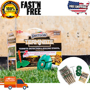 Termite Detection Killing Stakes Spectracide Terminate Install Home Kit 15-count
