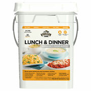 Augason Farms Lunch And Dinner Emergency Food Supply Storage Pail 11.03 Lbs