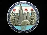 Department Of State Diplomatic Security Service Chicago Field Off Challenge Coin