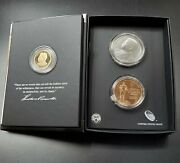 2013 Coin And Chronicles Theodore Teddy Roosevelt Set Coin And Medals Ogp