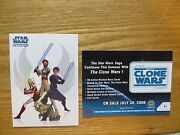 2008 Topps Star Wars The Clone Wars Promo Card P1