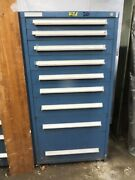 Drawer Cabinet Tool Box Stanley Vidmar 30wide 27deep 59 Tall No Shipping