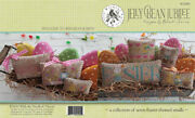 10 Off With Thy Needle And Thread Counted X-stitch Chart - Jelly Bean Jubilee