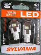 Sylvania Zevo Super Bright White 921 912 Fin Led 12v 2.1w - 2 Brand New Bulbs
