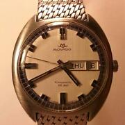 Vintage Movado Kingmatic Hs 360 Sub Sea Watch - Day Date Automatic Self-winding