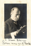 Benito Il Duce Mussolini Italy - Autographed Signed Photograph 3/1932