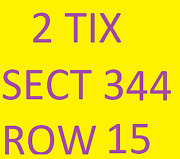 Green Bay Packers @ Minnesota Vikings 11/21 - 2 Tickets Sect 344 Row 15