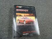 1998 Mitsubishi 3000gt Coupe Engine And Transmission Shop Service Repair Manual