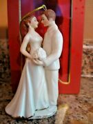Lenox 43 Porcelain China 2010 Always And Forever Bride And Groom Ornament Nib