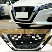 For Nissan Altima Teana Black Front Center Mesh Grille Grill Cover Trim 2019-21