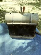 Vintage Electric Steam Engine Boiler Part Only Maker Unknown As Is Untested