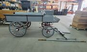 4561 - Beautiful Horse Drawn Buckboard With Team Pole Super Condition Pre-owned