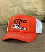 Vintage Stihl Chainsaws Snapback Hat Trucker Cap Mesh Patch Hat New Old Stock
