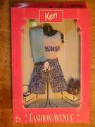 1998 Nos New Old Stock In Box Vintage Toy Doll Clothes Ken Barbie Fashion Shoes