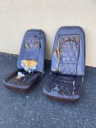 Two Old Corvette Seats Andmdash Probably 1970andrsquos