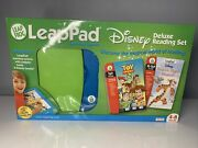 Rare Delux 2005 New Leap Frog Leappad Learning System Disney Books