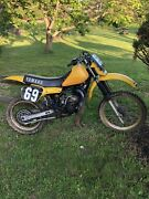 Yamaha 1982 Yz125 Super Rare Classic This Bike Will Hang With Any New Bike Today